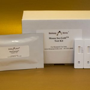 Iso-Gold™ Rapid Mouse-Monoclonal Isotyping Kit, 5 tests