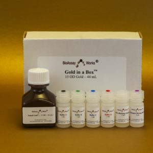 Gold-in-a-Box™ Conjugation Kit, 40 nm, 44 mL